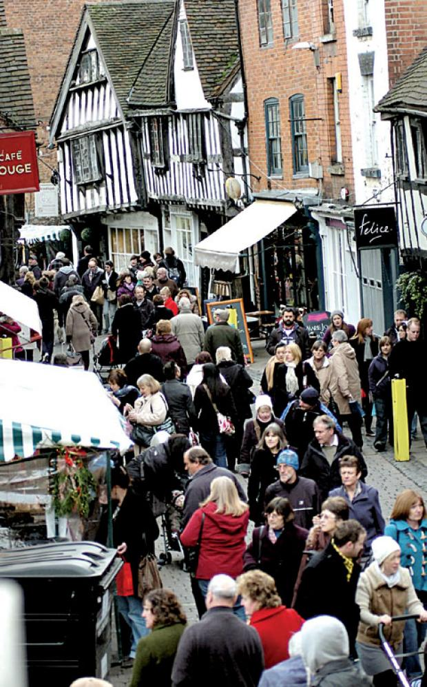 CHRISTMAS FUN: Worcester's Victorian Christmas Fayre is this weekend
