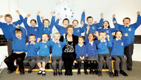"PAT ON THE BACK: St Clement's CE Primary School has been declared ""oustanding"" in all areas in a report by Ofsted"
