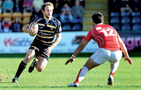 ON FORM: Warriors full-back Chris Pennell.