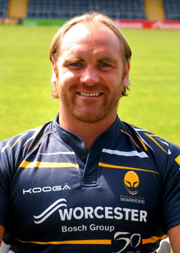 ANDY GOODE: Signed for Wasps.