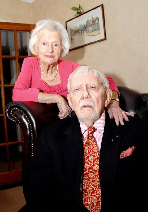 BLUE SAPPHIRE COUPLE: Milly and John Ranford can look back on a relationship which has lasted more than 65 wonderful years.