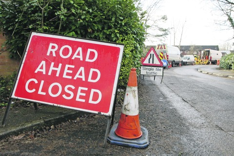 Road to close for sewer works