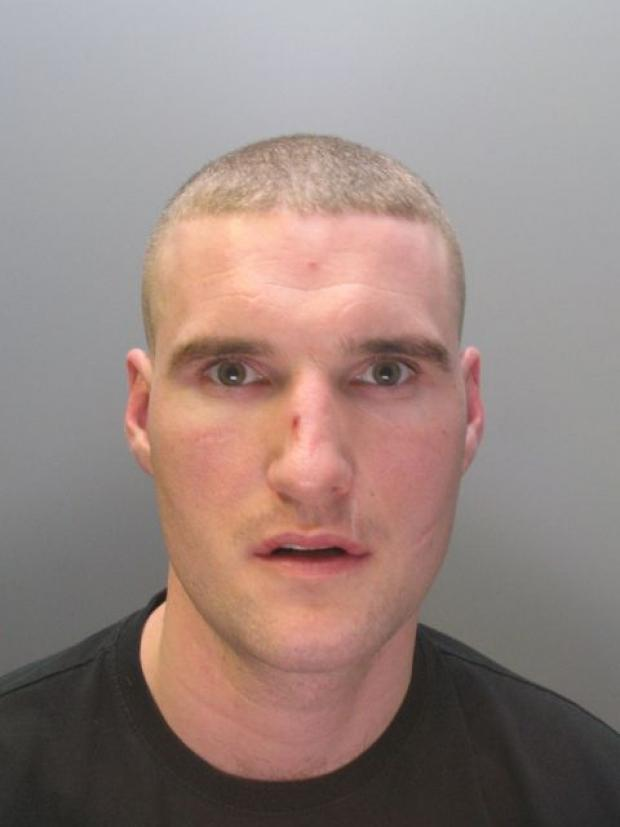 WANTED: Police want to trace Peter O'Shaughnessy in relation to a knife assault in Evesham