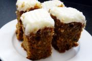 Healthy and tasty carrot cake