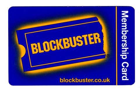 Blockbuster stores to close