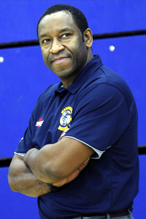 Worcester Wolves first team head coach Paul James.