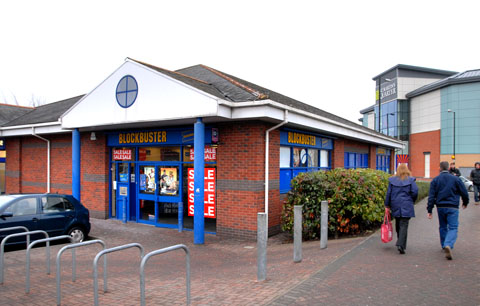 ADMINISTRATION: Blockbuster, which has a store in Shrub Hill Retail Park, has appointed administrators