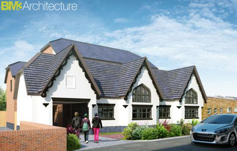 ARTIST'S IMPRESSION: How the Heenan's Social Club building could look if redevelopment plans get the go-ahead.