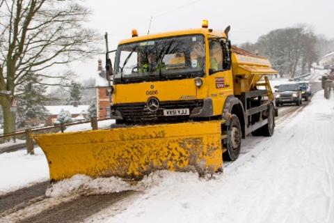 """Oh Snow! Not again!"" County gritters on standby"