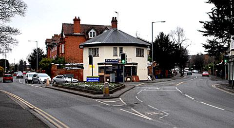 SHUT: The junction of Ombersley Road, left, and Droitwich Road in Worcester. The southbound lane of Ombersley Road will be closed and a diversion set up throughout the sewer repair works starting in February. (0413230201)