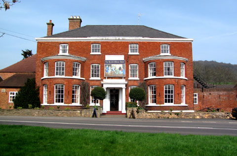 HISTORICAL: The Hundred House dates from the 17th century, and is described as being of great importance in coaching days.