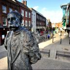 OVERHAUL: The Elgar Statue end of High Street is to have a £700,000 revamp.