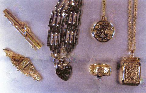 Some of the items stolen from Clydesdale Close in Droitwich.