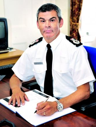 SUPPORT FOR PCSOs: Chief constable David Shaw.