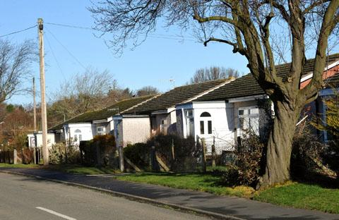 NEW HOMES: It is hoped to demolish the maisonettes in Pickersleigh Grove, Malvern, and replace them with 90 new properties.