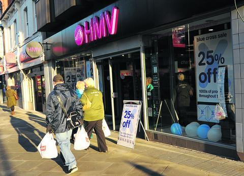 Worcester News: HMV will stay open in Worcester
