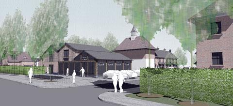 GLIMPSE OF THE FUTURE: How the transformed former Malvern water bottling plant could look.
