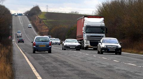 CALL FOR ACTION: The stretch of A46 between Evesham and Beckford has been responsible for the deaths of three people and many injuries since July 2010