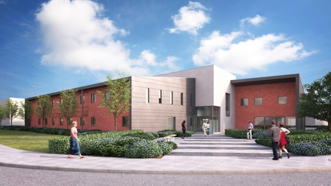 Construction underway on St John's House Medical Centre