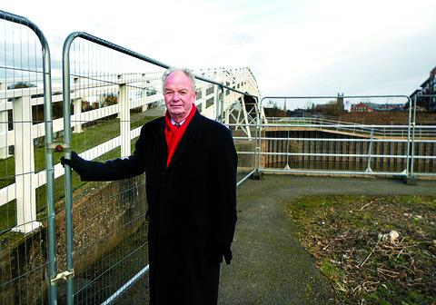 Concern: Councillor Derek Prodger and Diglis Basin bridge.