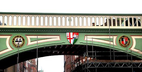 New look Foregate Street Bridge revealed