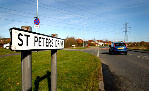 LORRY CRACKDOWN: At St Peter's Drive