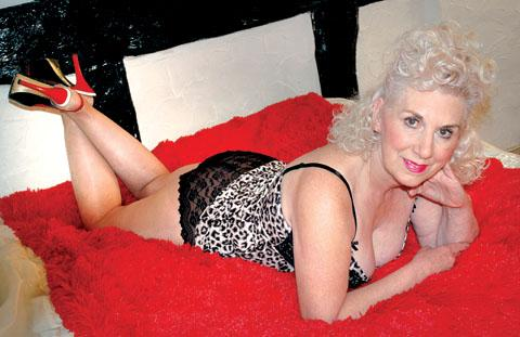 looking for fun: Glamour model Annette Edwards says she would be happy to strip off when she appears on Big Brother.