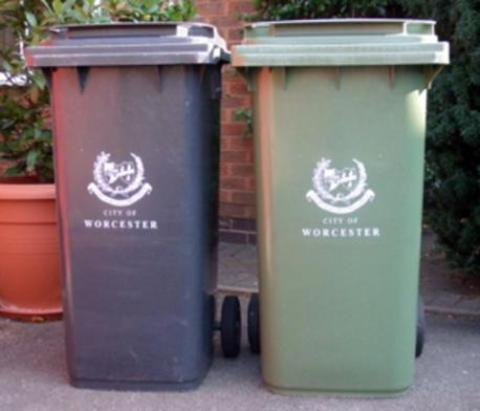 Wheelie bin plan wins narrow backing