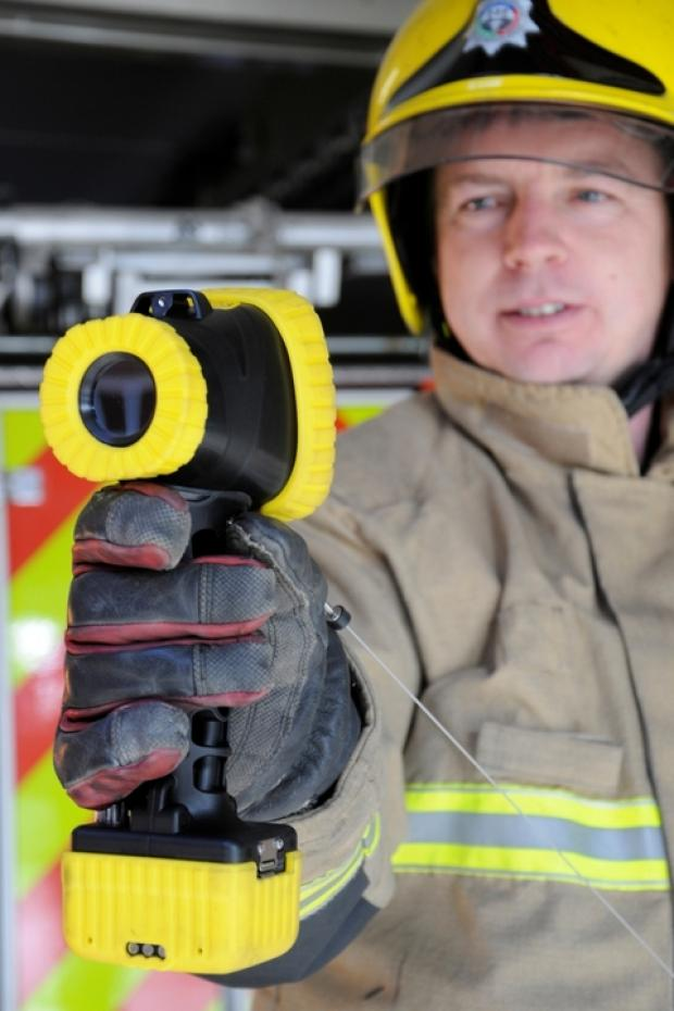 Fire service updates vital thermal imaging equipment