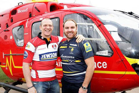 Mike Tindall and Andy Goode