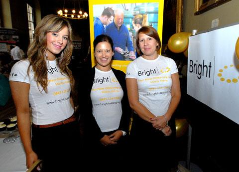 HELPING PEOPLE BACK TO WORK: Members of Bright Assessing. Left to right: Kirsty Slevin, lead course adviser; Krissy Charles-Jones, chief executive, and Samantha Thwaites, marketing manager.
