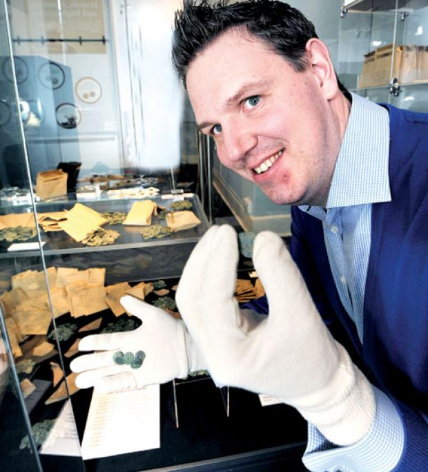 Hoard of Worcestershire treasure goes on show this weekend