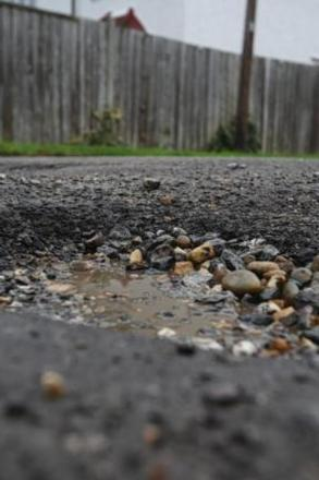 Potholes in Worcestershire