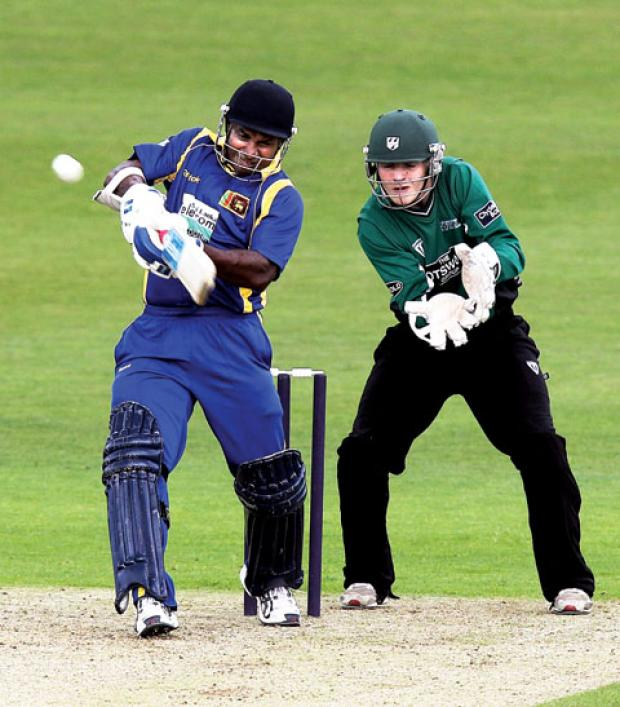 IMPRESSING: Worcestershire wicketkeeper Ben Cox (right) has looked good in pre-season training says Steve Rhodes.