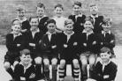 MILES OF SMILES: Bill Arntzen, back left, sent in this picture Stanley Road School football team.