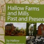 Book cover - Hallow Farms and Mills, Past and Present by Hallow History Group.