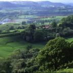 SHAPE OF THINGS PAST: A view of the Teme Valley from Rodge Hill.
