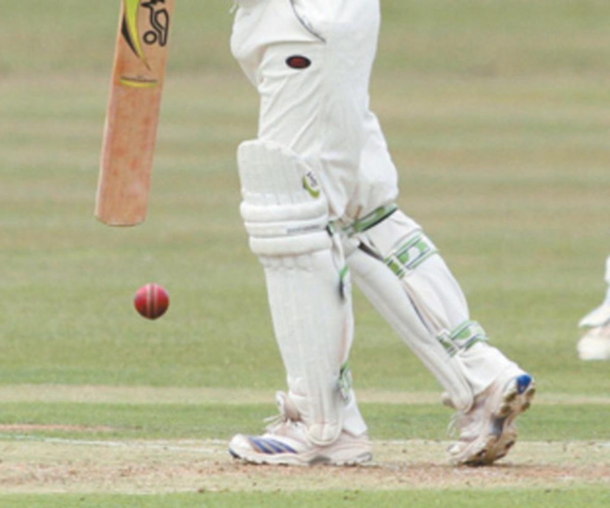County hit back with two wickets after disappointing total