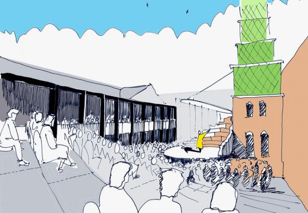 Worcester News: Worcester's £10 million cultural quarter gets the go-ahead