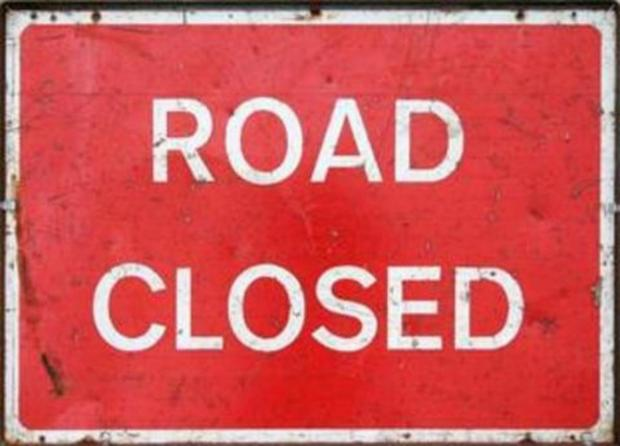 Crash blocks road between Powick and Callow End