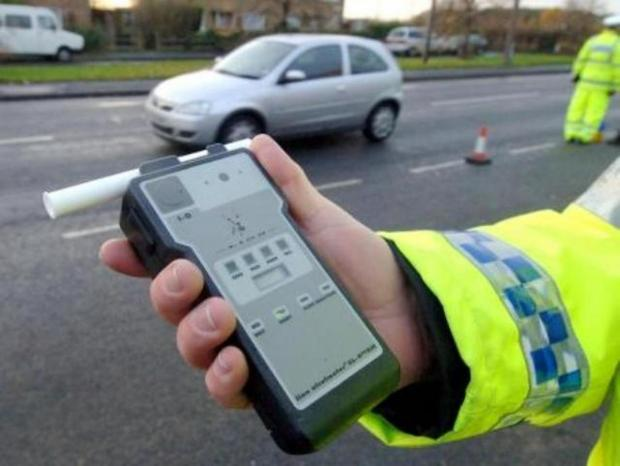 Fall in drink-drivers caught during festive clampdown