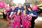 LAUNCH TIME: Back, from left, Adam Lockton, Stuart Hobbs, Elizabeth Church and Elaine Tyler; front, Cara Waller and Kelly Rumble launch the Race for Life Twilight.