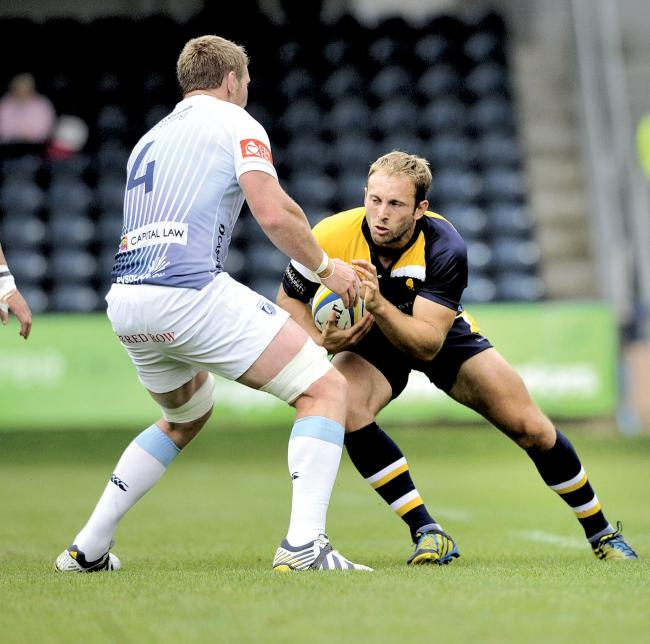 Worcester Warriors full-back Chris Pennell.