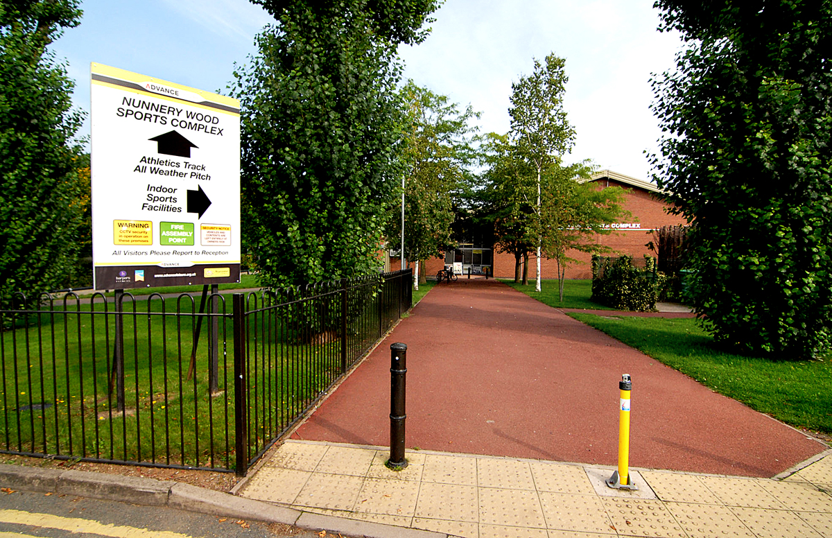 Nunnery Wood Sports Complex in Worcester