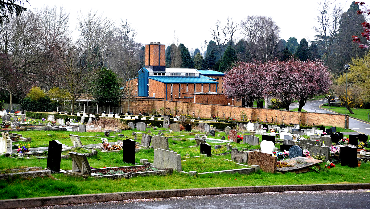 Worcester cemetery, in Astwood Road