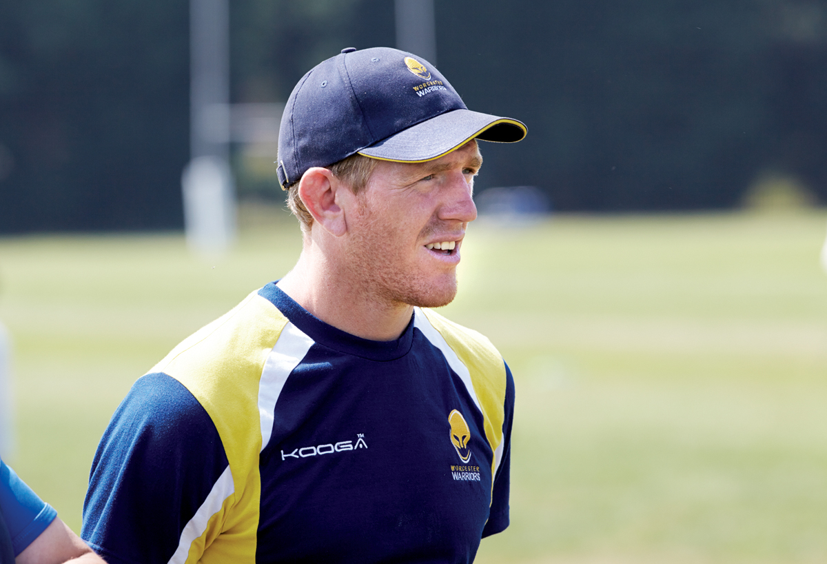 Sam Vesty is Worcester's academy transition coach.