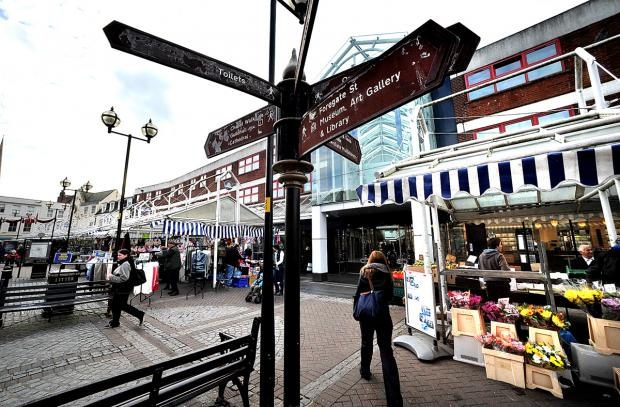 Worcester market stalls saved after council agrees to spread them out