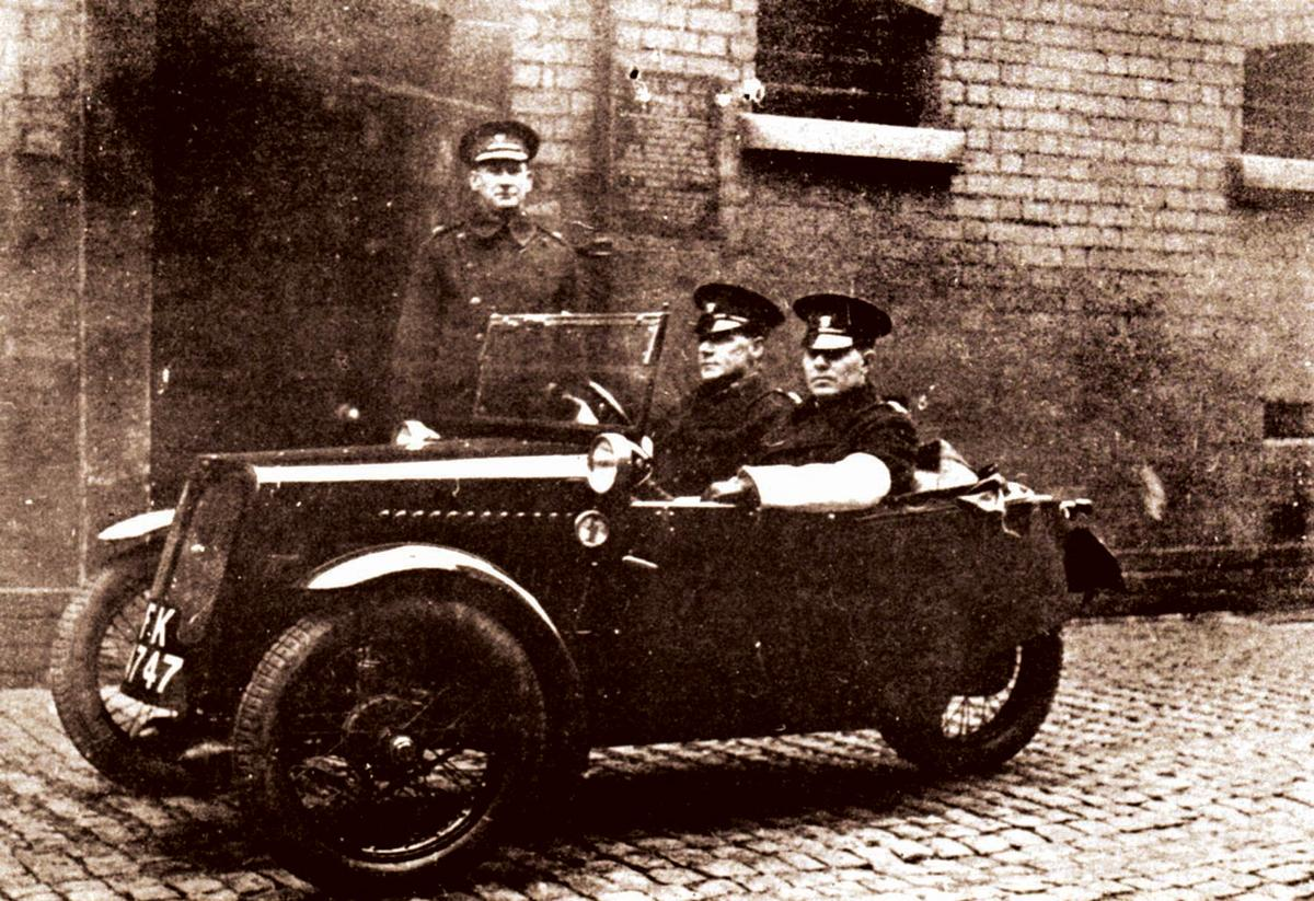 Worcester S First Police Car Malvern Built Morgan Three Wheeler