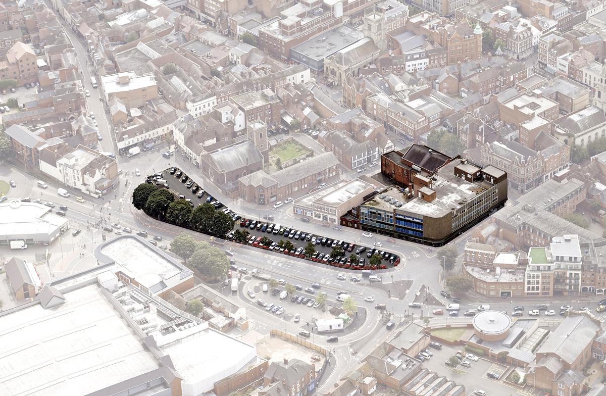 The Cornmarket and Trinity House site: up for sale