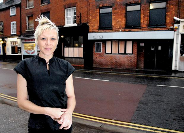 BRING IT ON: Worcester entrepreneur Sarah Colquitt is in favour of a new lap dancing club planned for Lowesmoor. Picture taken by Paul Jackson. BUY THIS PHOTOGRAPH: worcesternews.co.uk/pictures/sales. 5113481202